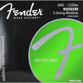 Fender USA 90505M Stainless Bass Strings(045-125tw) [エレキベース弦] (#0739050455)
