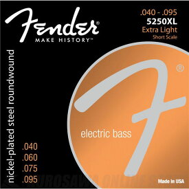 Fender USA 5250XL Short Scale Bass Strings (040-95) [エレキベース弦] (#0735250402)
