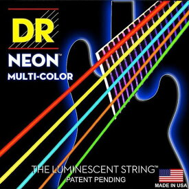 DR NEON BASS Guitar Strings [MULTI-COLOR] (DR-NMCB545/45-125)