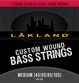 LAKLAND Custom Wound 4string STAINLESS STEEL [MEDIUM GAUGE/45-105]