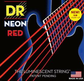 DR NEON Guitar Strings [NEON-RED] (09-42)[NRE-9]