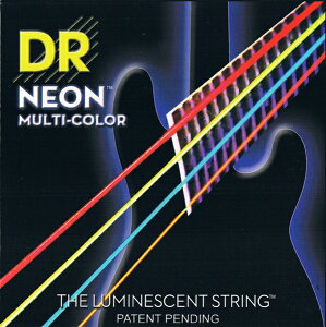 DR NEON BASS Guitar Strings [MULTI-COLOR] (DR-NMCB45/45-105)