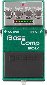 あす楽 新品 即納可能 BOSS BC-1X [Bass Comp] 【期間限定★送料無料】 【rpt5】 【IKEBE×BOSSオリジナルデザイン風呂敷プレゼント】
