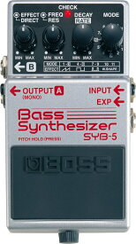 BOSS SYB-5 Bass Synthesizer 【期間限定★送料無料】 【rpt5】 【IKEBE×BOSSオリジナルデザイン風呂敷プレゼント】