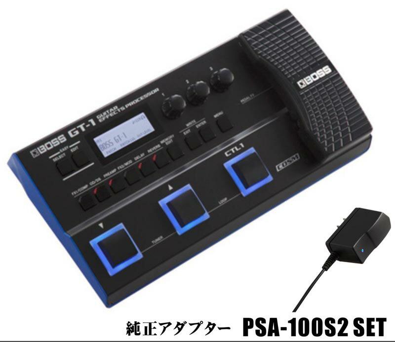 BOSS GT-1 + BOSS PSA100S セット! 【rpt10】