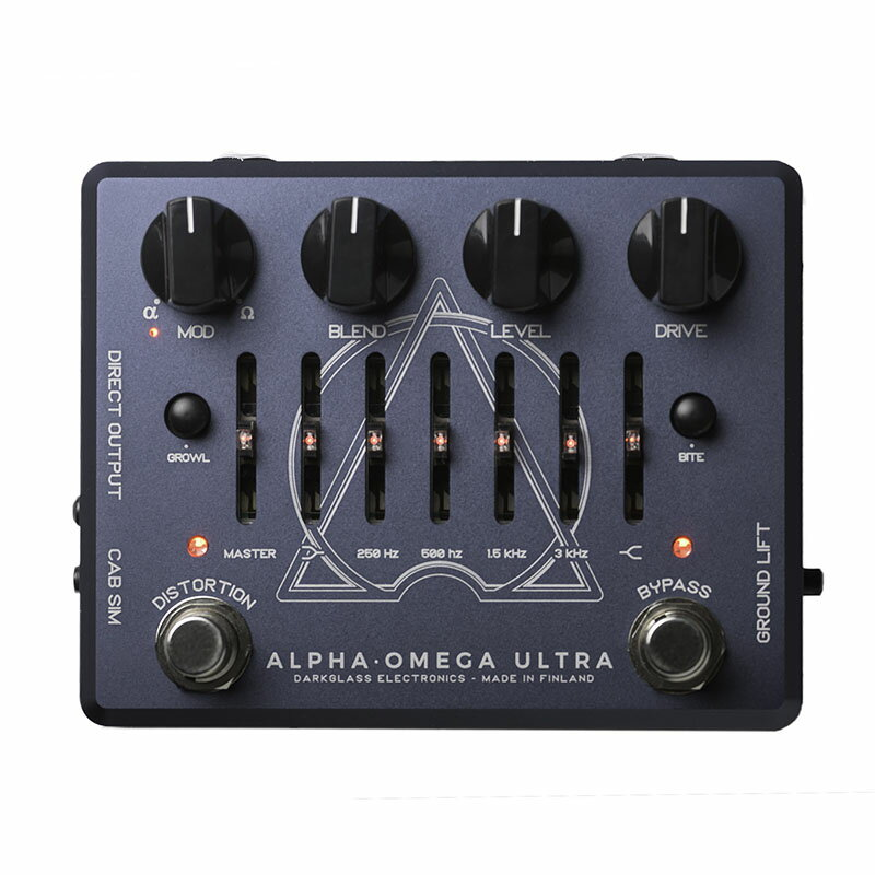 Darkglass Electronics ALPHA.OMEGA ULTRA 【即納可能】