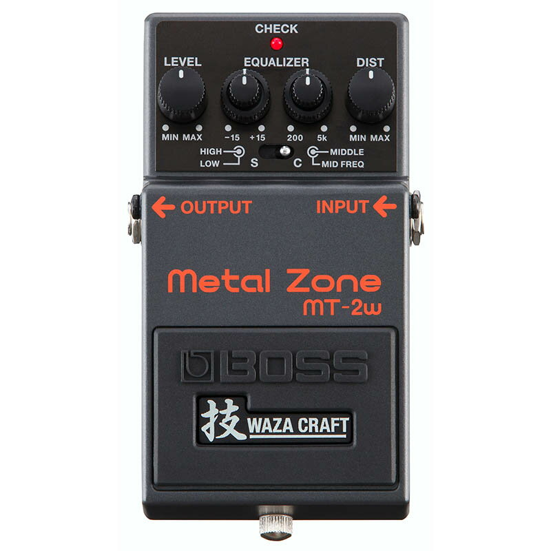 BOSS MT-2W [MADE IN JAPAN] [Metal Zone 技 Waza Craft Series Special Edition] 【11月以降入荷予定】 【送料無料】【rpt5】