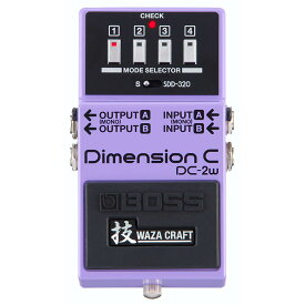 BOSS DC-2W [MADE IN JAPAN] [Dimension 技 Waza Craft Series Special Edition] 【送料無料】 【次回入荷分(納期未定)ご予約受付中】 【rpt5】【IKEBE×BOSSオリジナルデザインピックケースプレゼント】