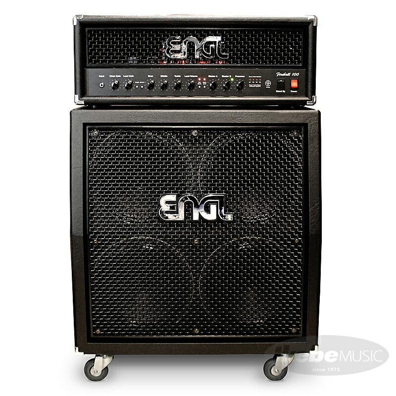ENGL Fireball 100 [E635] + 4x12 Pro Cabinet [E412VSB] SET 【購入特典3点セット付き】