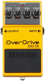 BOSS OD-1X [OverDrive] 【期間限定★送料無料】 【rpt5】 【IKEBE×BOSSオリジナルデザイン風呂敷プレゼント】【あす楽対応】