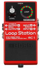 BOSS RC-1 [Loop Station] 【期間限定★送料無料】 【rpt5】 【IKEBE×BOSSオリジナルデザイン風呂敷プレゼント】【あす楽対応】