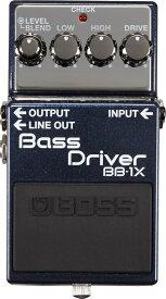 あす楽 新品 即納可能 BOSS BB-1X [Bass Driver]【期間限定★送料無料】 【rpt5】 【IKEBE×BOSSオリジナルデザイン風呂敷プレゼント】