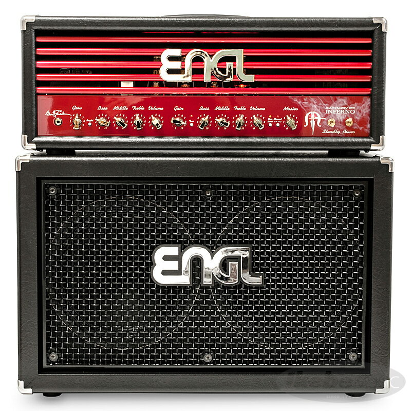 "ENGL Marty Friedman""INFERNO""Signature [E766] + 2x12 Pro Cabinet [E212VHB] SET 【購入特典3点セット付き】"