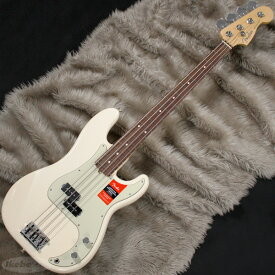 Fender USA American Professional Precision Bass (Olympic White/Rosewood) [Made In USA] 【お取り寄せ品】【rpt5】