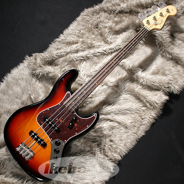 Fender USA American Original '60s Jazz Bass (3-Color Sunburst) [Made In USA] 【即納可能】 【rpt5】 【FENDER THE AUTUMN-WINTER 2018 CAMPAIGN】 【FB1225ギグバッグプレゼント】