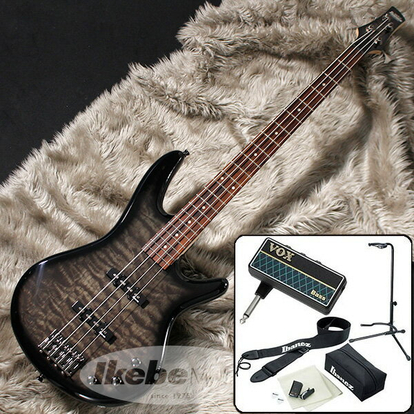 Ibanez GSR370-TKS 【VOX amPlug 2 for Bass エレキベース入門1BOXセット】 【数量限定!アイバニーズ・ロゴ入りヘッドホン・プレゼント!】
