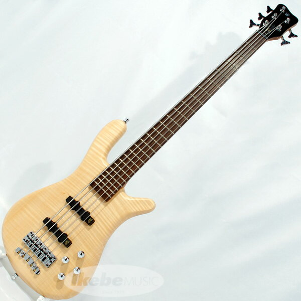 "Warwick German Team Built Streamer LX 5st ""Flame Maple Top"" (Natural Satin)"