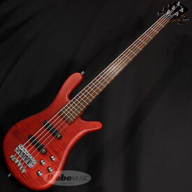 "Warwick German Team Built Streamer LX 5st ""Flame Maple Top"" (Burgundy Red Transparent Satin)"