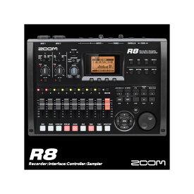 あす楽 新品 即納可能 ZOOM R8 Multitrack Recorder【CUBASE LE Download version同梱】