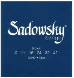 Sadowsky ELECTRIC GUITAR STRINGS [Blue Label Nickel Plated] (09-42)