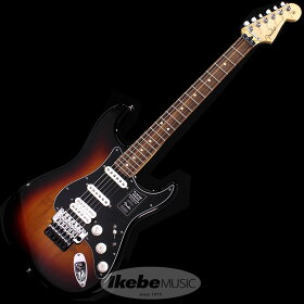 FenderMEXPlayerStratocasterwithFloydRoseHSS(3-ColorSunburst/PauFerro)