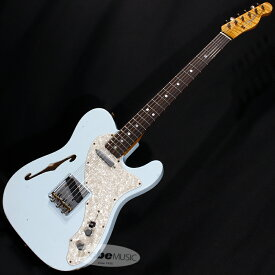 Fender Custom Shop 2020 NAMM SHOW Limited 60s Telecaster Thinline Journeyman Relic (Faded/Aged Sonic Blue) 【rpt5】