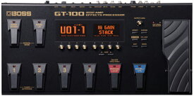 BOSS GT-100 【COSM Amp Effects Processor】【Ver.2】【ハードケース&THE EFFECTOR BOOK「BOSS GT-100完全攻略編」プレゼント!】 【rpt10】