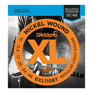 D'Addario EXL110BT Nickel Wound, Balanced Tension Regular Light