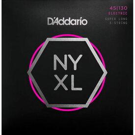 D'Addario NYXL Series 5-Strings Electric Bass Strings [NYXL45130]