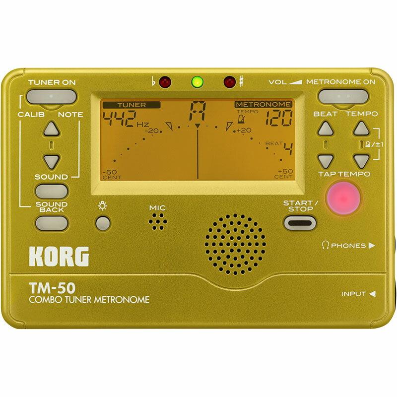 KORG TM-50-GD [DIGITAL TUNER METRONOME] 【生産完了アウトレット】
