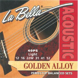 La Bella Acoustic Golden Alloy Wound