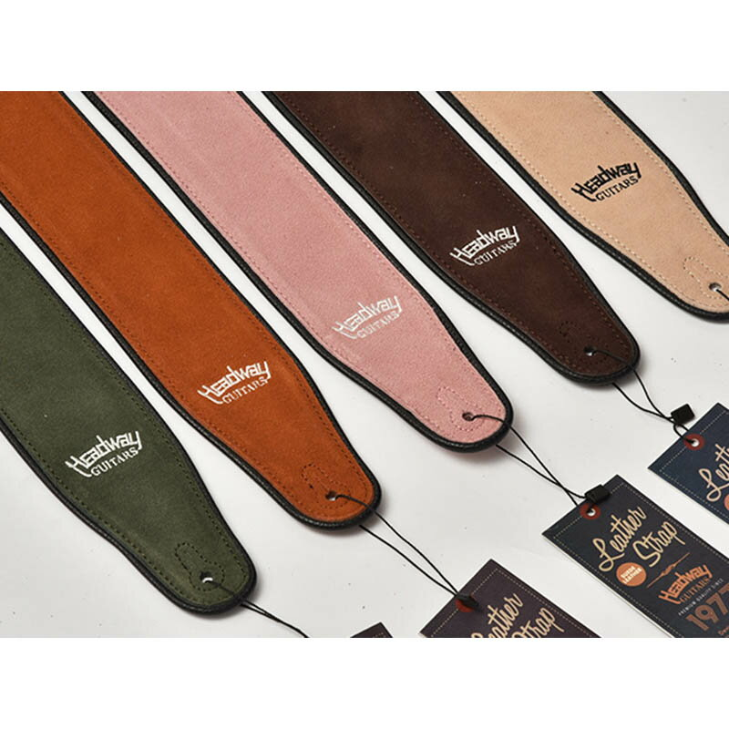 Headway Guitars Suede Leather Strap HW-5000