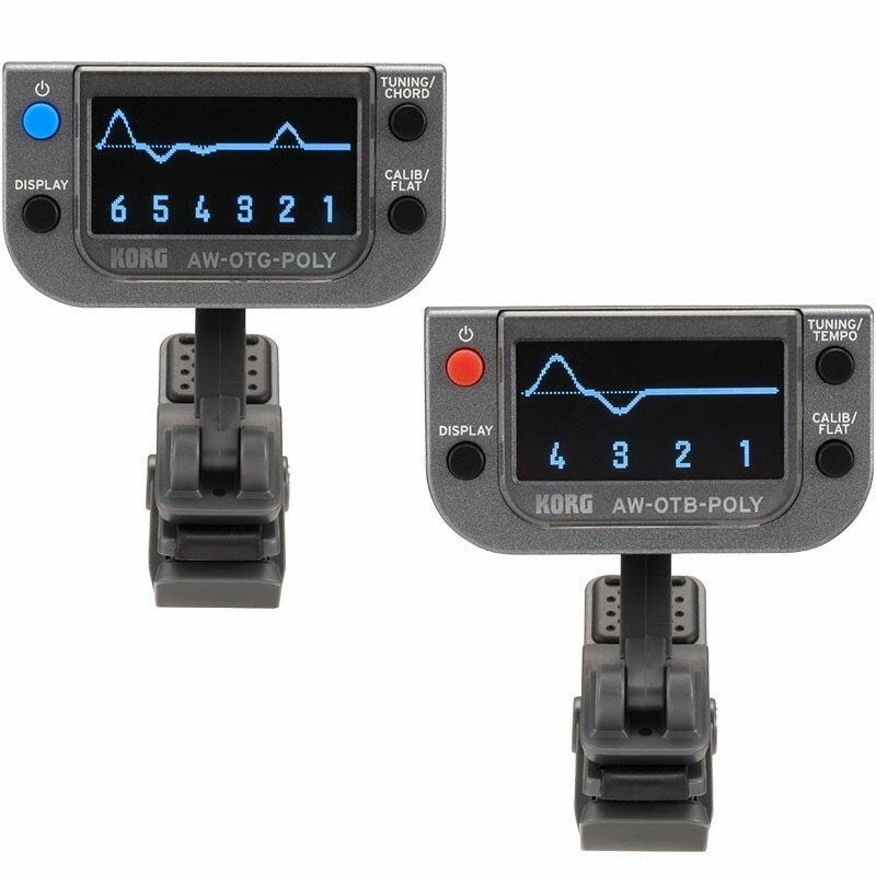 KORG POLYPHONIC CLIP-ON TUNER AW-OT-POLY