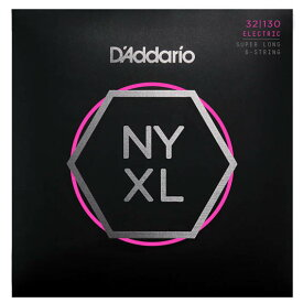 D'Addario NYXL Series 6-String Super Long Scale Electric Bass Strings [NYXL32130SL]