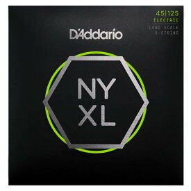 D'Addario NYXL Series 5-Strings Electric Bass Strings [NYXL45125]