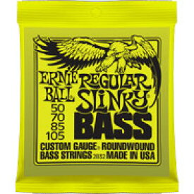 ERNIE BALL Round Wound Bass Strings #2832 REGULAR SLINKY