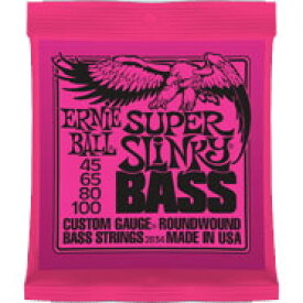 ERNIE BALL Round Wound Bass Strings #2834 SUPER SLINKY