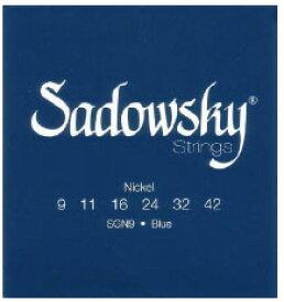 Sadowsky ELECTRIC GUITAR STRINGS [Blue Label Nickel Plated]