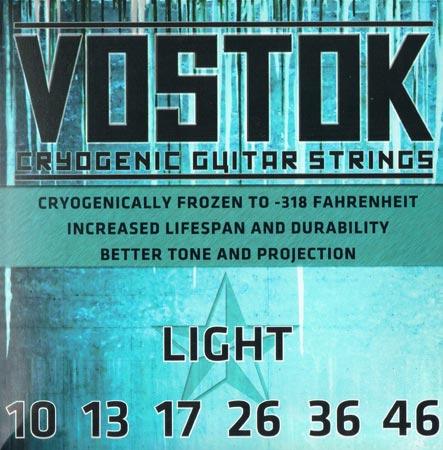 Everly Vostok Cryogenic Guitar Strings 【限定タイムセール】