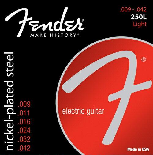 Fender USA Nickel-Plated Steel 250's 【限定タイムセール】