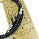 Free The Tone Instrument Cable CU-6550LNG (3m/SS)