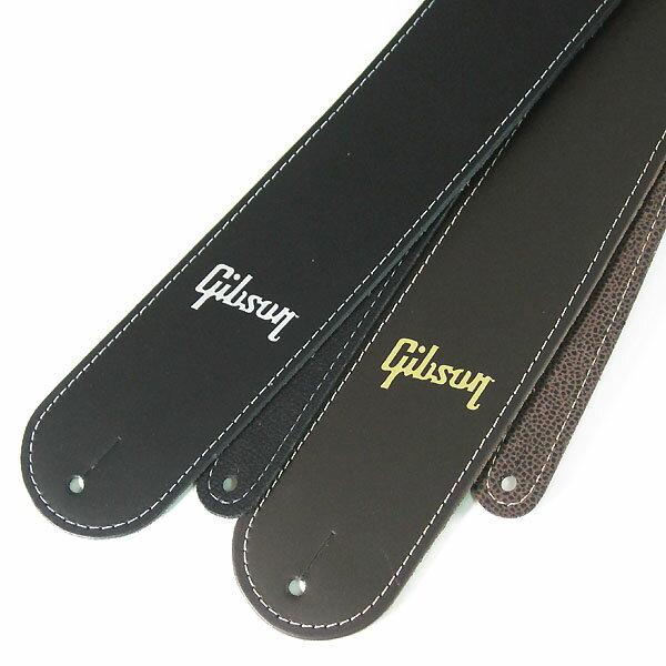 Gibson Troubador Acoustic Guitar Strap [ASTR-BLK/ASTR-BRN] 【限定タイムセール】