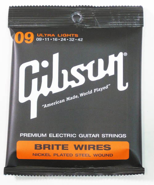 Gibson Brite Wires [エレクトリック・ギター弦] 【限定タイムセール】
