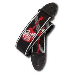 "Gibson Woven Style 2"" Strap w/ Gibson Logo [ASGG-600] 【限定タイムセール】"