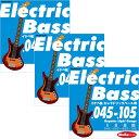 "IKEBE ORIGINAL Electric Bass Strings ""イケベ弦 エレキベース用 045-105"" [Regular Light Gauge/IKB-EBS-45105]×…"