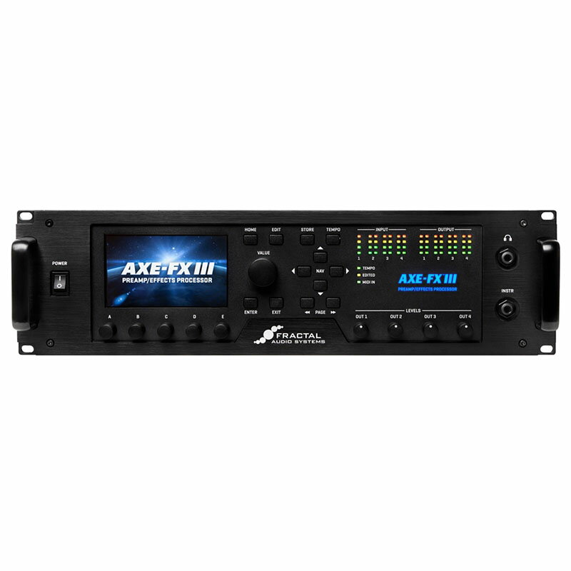 Fractal Audio Systems Axe-Fx III 【次回以降入荷分ご予約受付中】