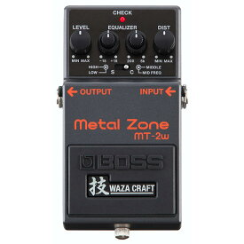 BOSS MT-2W [MADE IN JAPAN] [Metal Zone 技 Waza Craft Series Special Edition] 【ikbp5】 【期間限定★送料無料】 【IKEBE×BOSSオリジナルデザイン缶クージープレゼント】