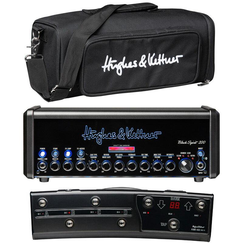 Hughes & Kettner Black Spirit 200 [BS200/BAG + FSM432/3 + T-shirt] SET 【特価】