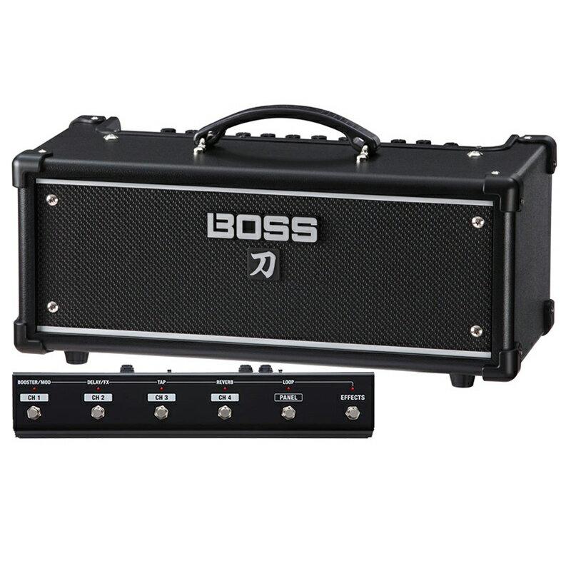 BOSS KATANA-HEAD [Guitar Amplifier] 【フットコントローラーGA-FC付きお買い得セット】 【送料無料】 【ikbp5】