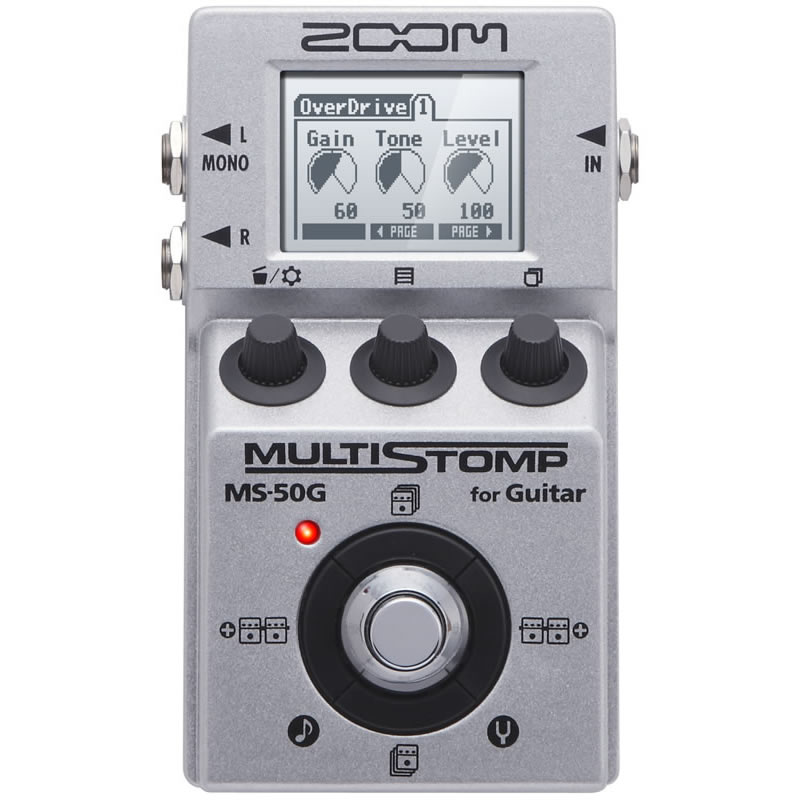 ZOOM MS-50G ver.3.0 [for Guitar] 【ikbp5】 【送料無料】